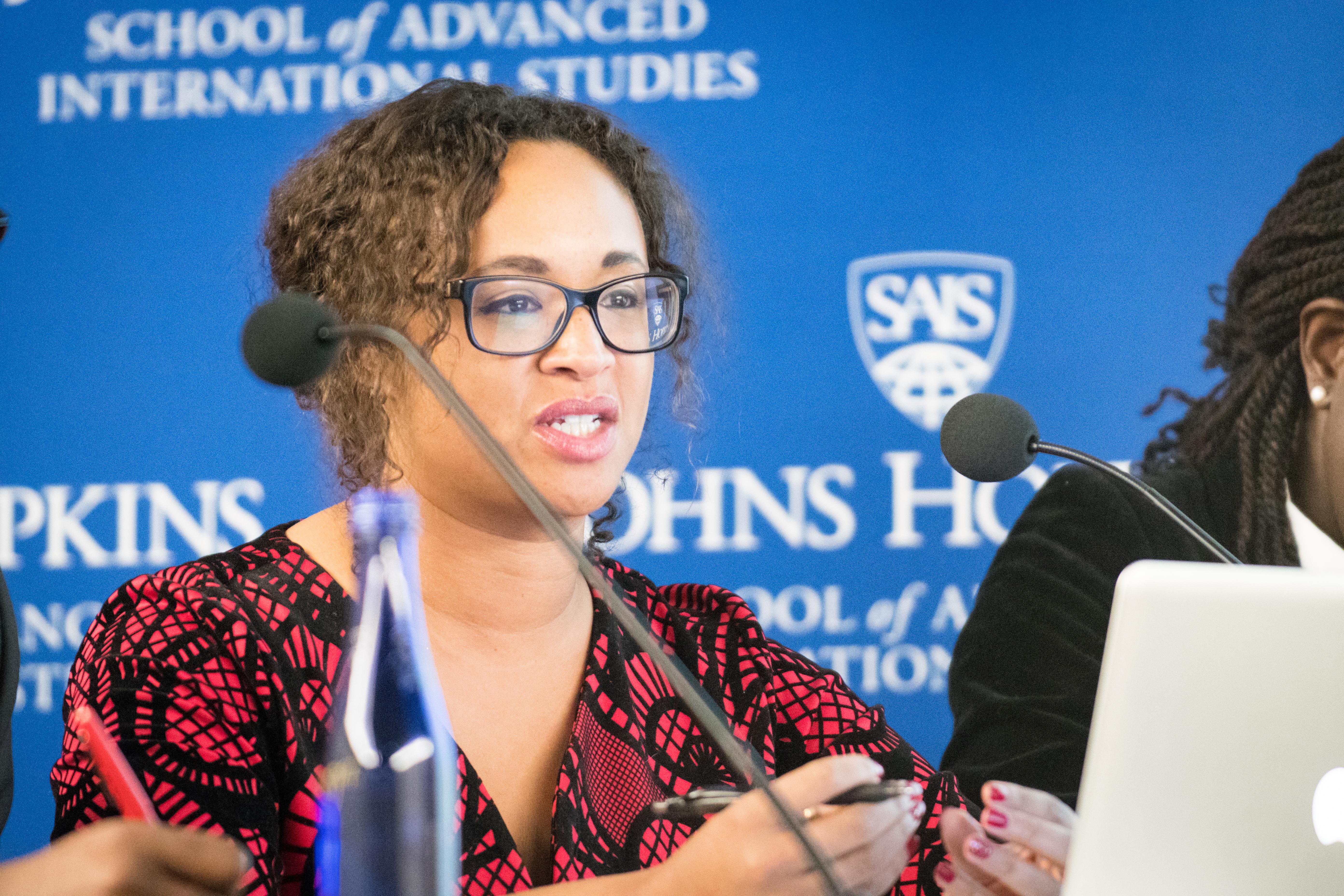 Johns Hopkins SAIS student
