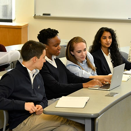 Johns Hopkins SAIS students in class