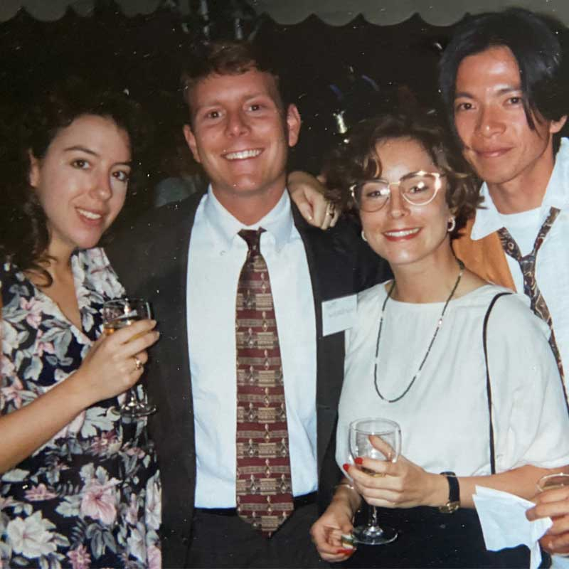 Group student image of the class of 1995