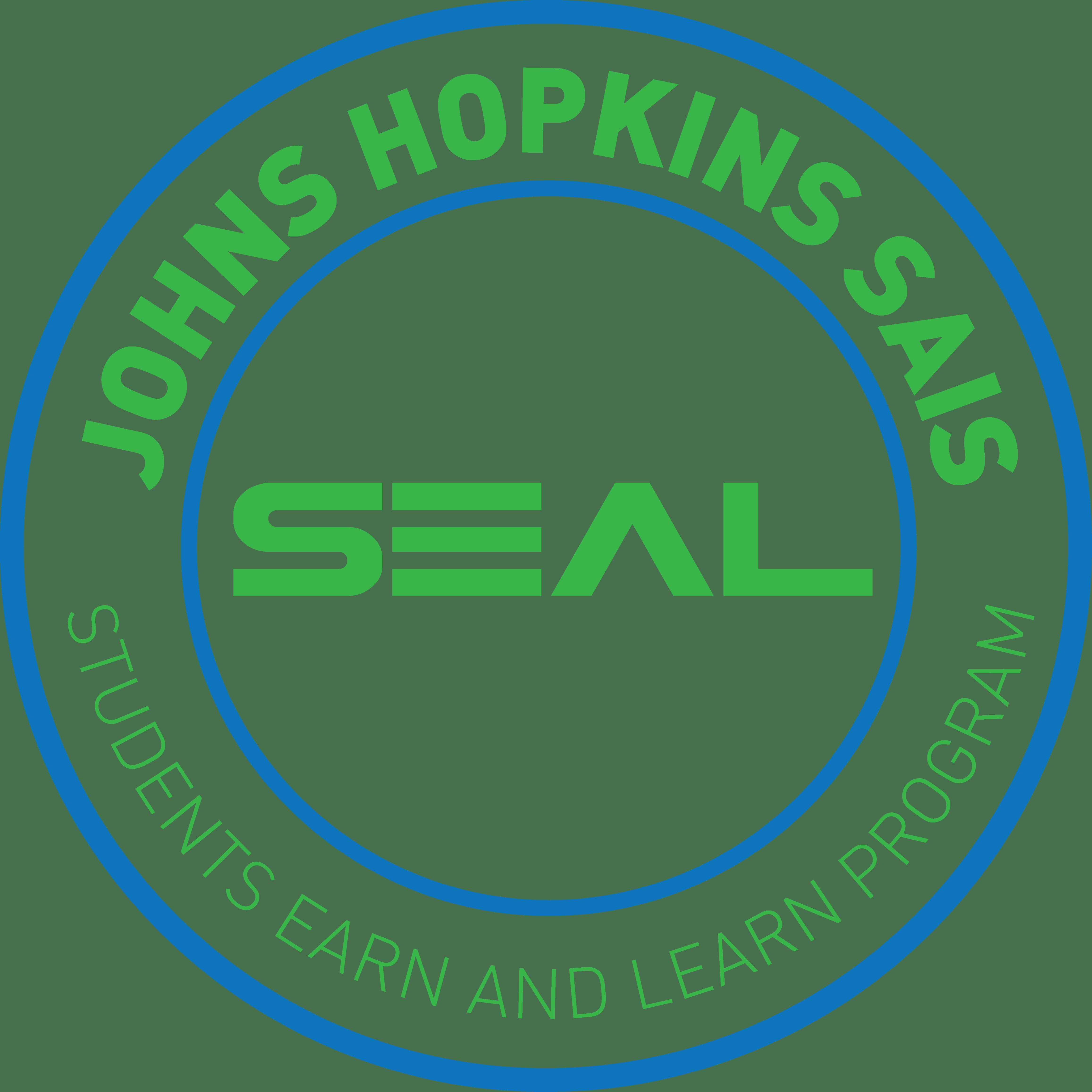 Johns Hopkins SAIS SEAL logo