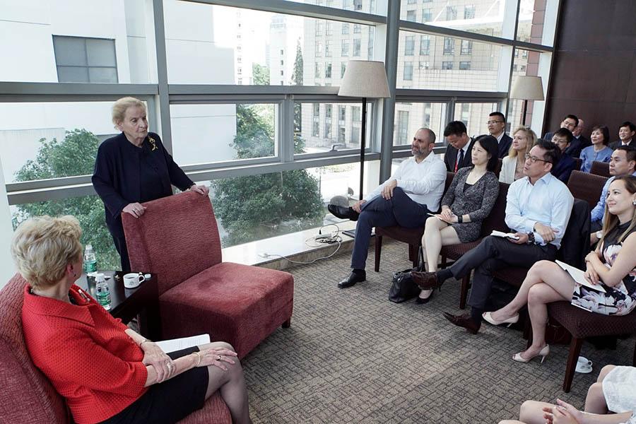 Johns Hopkins SAIS event with Madeleine Albright