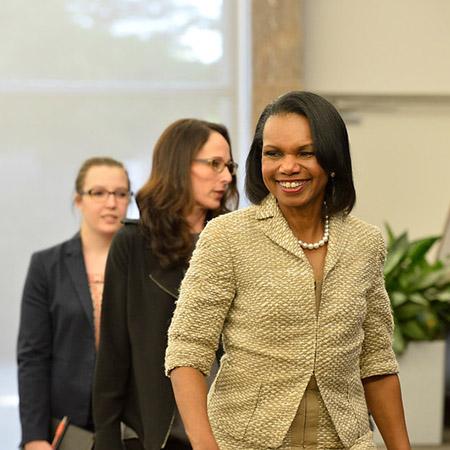 Johns Hopkins SAIS event with  Condoleezza Rice