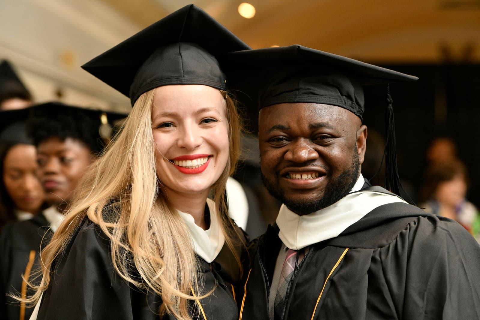 Johns Hopkins SAIS graduates at commencement