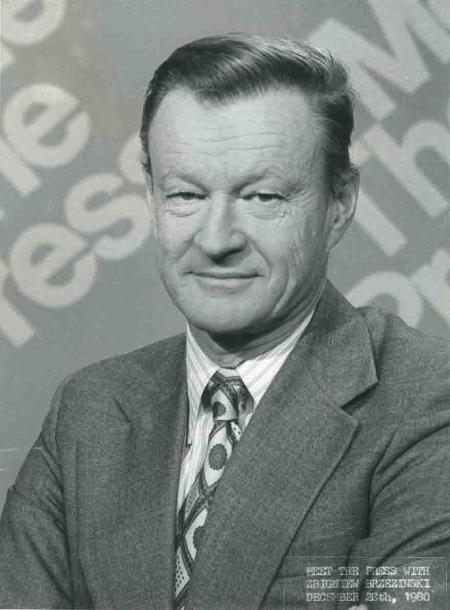 Dr. Zbigniew Brzezinski Portrait Image