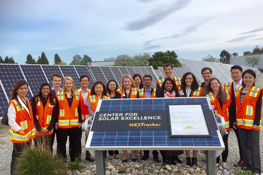 Johns Hopkins SAIS students on an energy trek