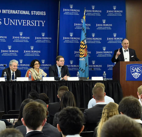 Johns Hopkins SAIS panel discussion