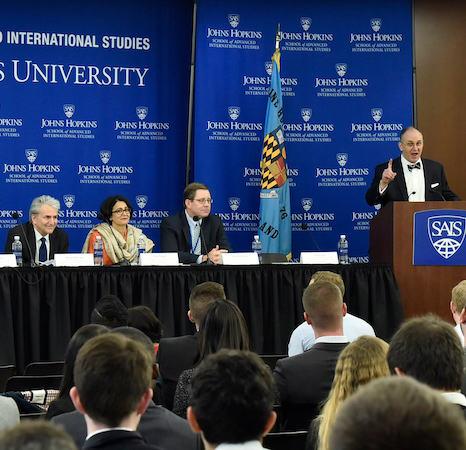 Johns Hopkins SAIS panel discussion