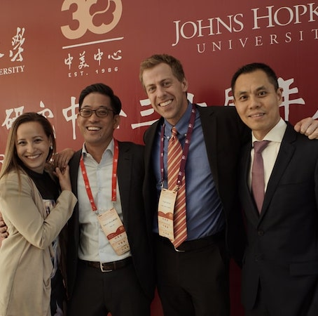 Johns Hopkins SAIS students in Nanjing, China