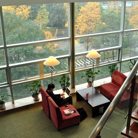 Library Steven Muller Atrium HNC