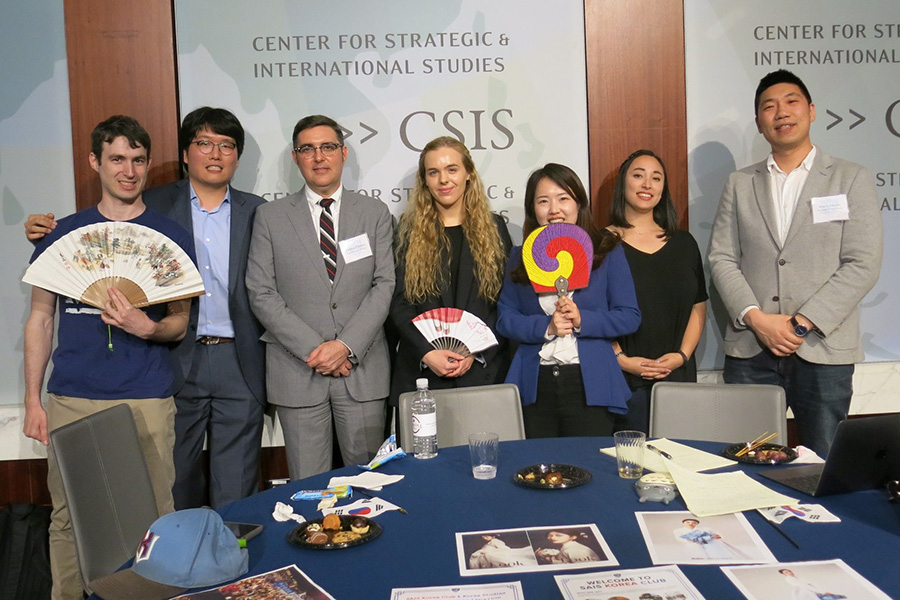 Johns Hopkins SAIS students and faculty