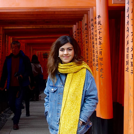 Johns Hopkins SAIS student in Japan