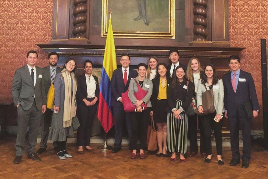 Johns Hopkins SAIS students in Colombia