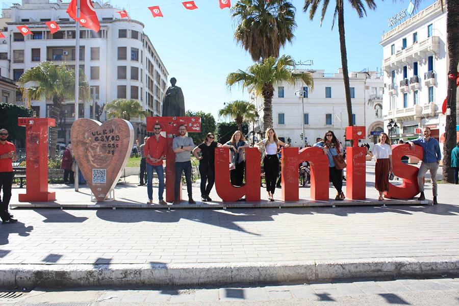 Johns Hopkins SAIS study trip to Tunisia
