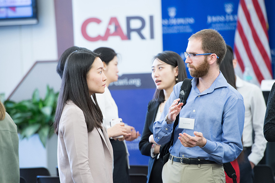 Attendees of SAIS CARI Conference
