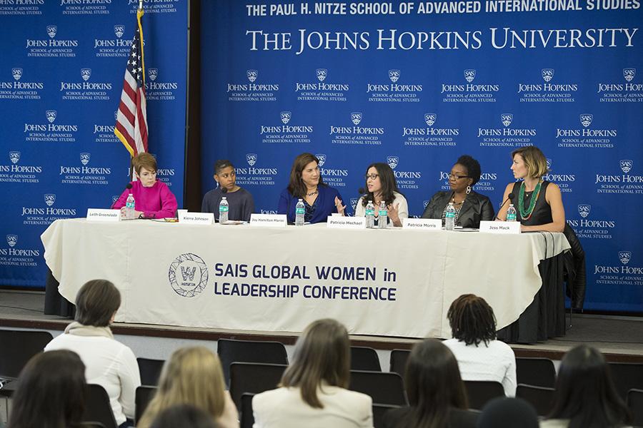 SAIS Women Lead panel discussion