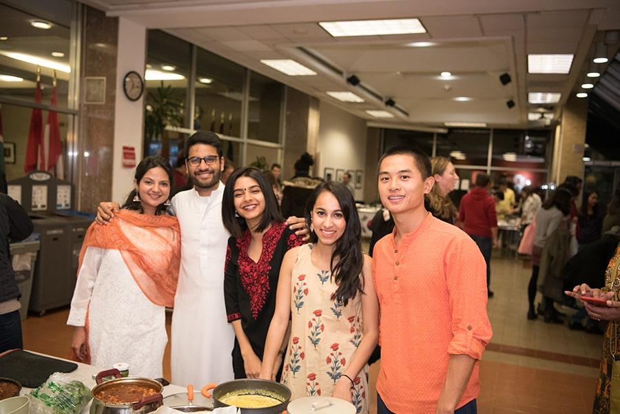 Johns Hopkins SAIS students