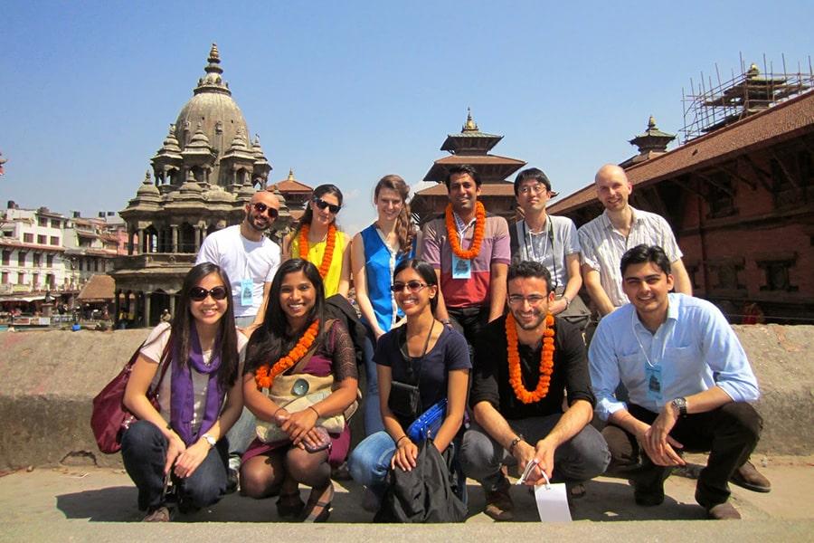 Johns Hopkins SAIS students in India