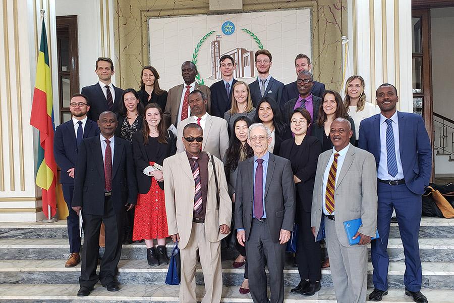 Johns Hopkins SAIS study trip to Africa