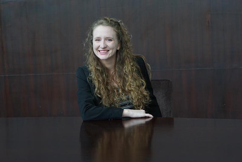 Photo Johns Hopkins SAIS student Morgan Brown