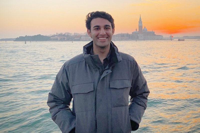 Photo of Johns Hopkins SAIS student Neil Evan Bhatia