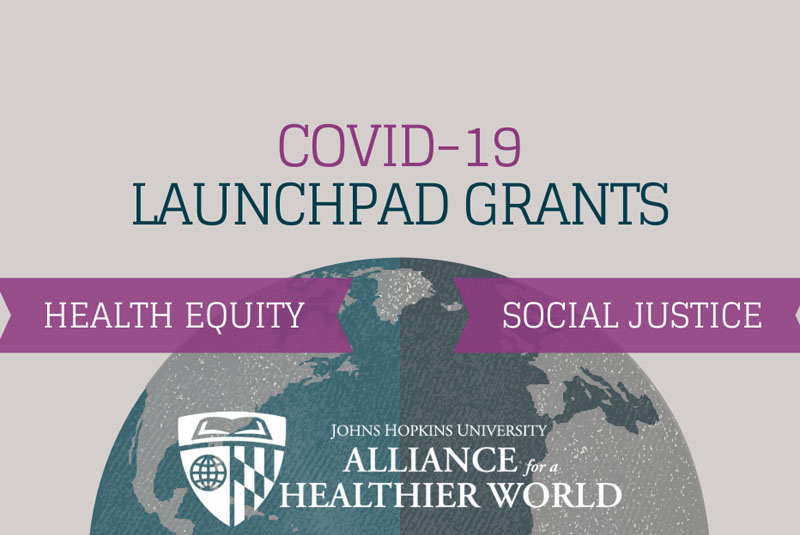 Alliance for a Healthier World Covid-19 grant illustration