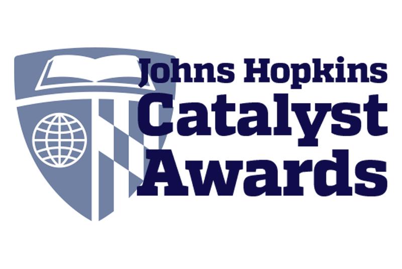 JHU Catalyst Award logo