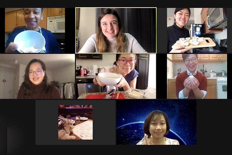 Virtual Thanksgiving celebration